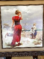 Seaside Gathering Limited Edition Print by  Pino - 2