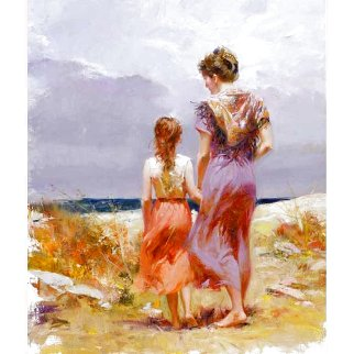 Summer Afternoon AP Embellished Limited Edition Print -  Pino