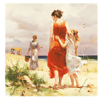 Breezy Day Limited Edition Print by  Pino