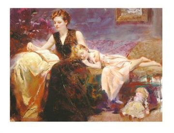 Precious Moments 2000 Limited Edition Print -  Pino
