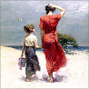 Afternoon Stroll Limited Edition Print by  Pino - 0