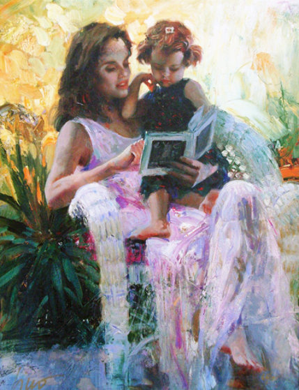 Sharing Moments 2000 Limited Edition Print by  Pino