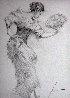 Flamenco Dancer Drawing 2010 30x26 Drawing by  Pino - 0