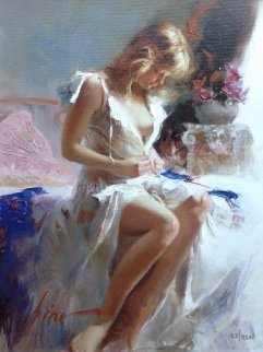 Early Morning AP 2005 Embellished Limited Edition Print by  Pino