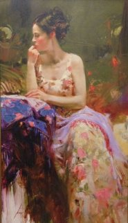 Momentary Pause 2009 Embellished Limited Edition Print by  Pino