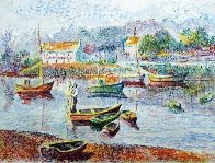 l' Embaracadere 1990 Limited Edition Print by H. Claude Pissarro - 0