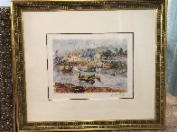 l' Embaracadere 1990 Limited Edition Print by H. Claude Pissarro - 1