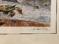 l' Embaracadere 1990 Limited Edition Print by H. Claude Pissarro - 2