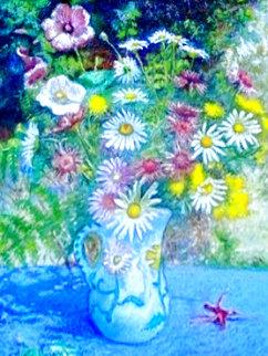 Bouquet Du Potager D'athis 31x37 Works on Paper (not prints) - H. Claude Pissarro