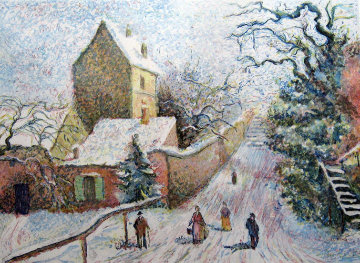 Le Lapin Agile 1987 Limited Edition Print - H. Claude Pissarro