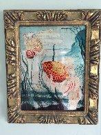 Uprin Rouge a Queue De Voile 1910 21x17 Original Painting by Georges Henri Mazana Pissarro - 1