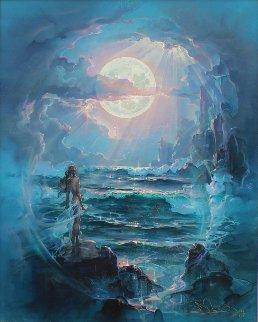 Through a Moonlit Dream 2004 Limited Edition Print - John Pitre