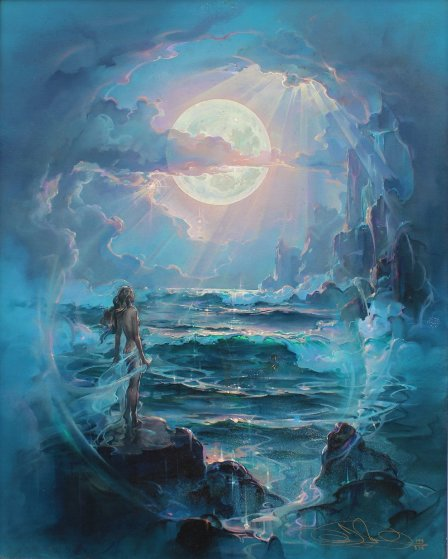 Through a Moonlit Dream 2004 Limited Edition Print by John Pitre
