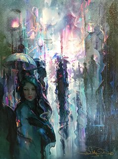 Night Street 2002 Limited Edition Print - John Pitre
