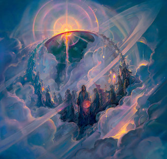 Ascension AP 2006 Limited Edition Print - John Pitre