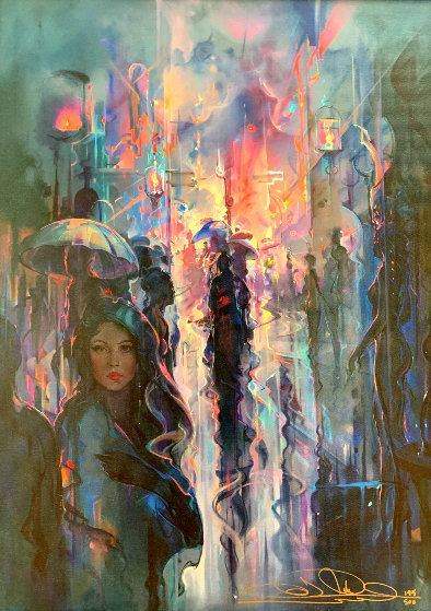 Night Street by John Pitre