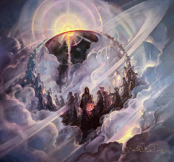Ascension 2004 Limited Edition Print - John Pitre