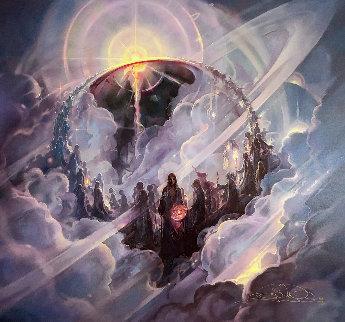 Ascension 2004 Super Huge Limited Edition Print - John Pitre