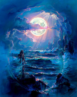 Through a Moonlit Dream AP Limited Edition Print by John Pitre