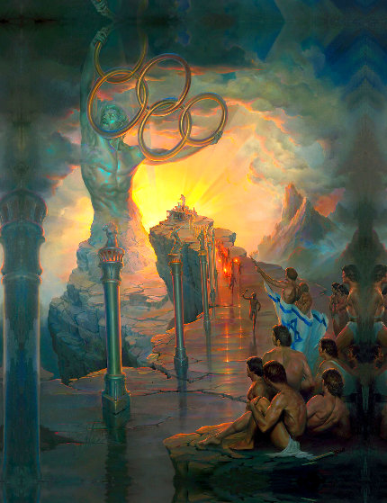 Israeli Martyrs 1981 Limited Edition Print by John Pitre