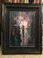 Night Street Limited Edition Print by John Pitre - 1