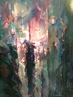 Night Street Limited Edition Print by John Pitre - 3