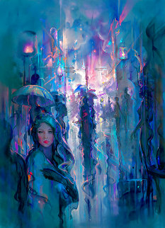 Night Street Limited Edition Print - John Pitre