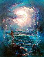 Through a Moonlit Dream AP 2007 Limited Edition Print by John Pitre - 0