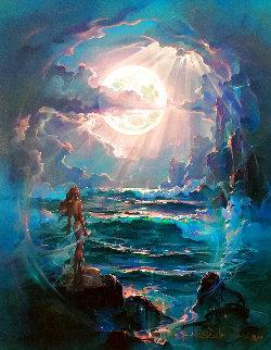 Through a Moonlit Dream AP 2007 Limited Edition Print - John Pitre