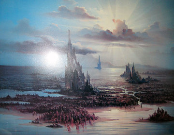 Commentary of Mankind Suite of 4 Limited Edition Print - John Pitre