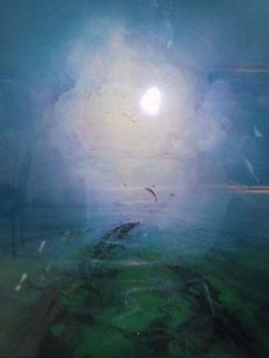 Dolphin Serenity 1992 Limited Edition Print - John Pitre