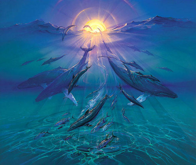 Pacific Sunrise Limited Edition Print by John Pitre