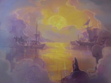 Ming's Dream 30x40 Original Painting - John Pitre