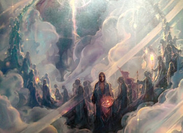 Ascension AP 2003 Limited Edition Print - John Pitre