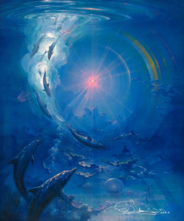Of Consciousness And Light 1988 Limited Edition Print - John Pitre