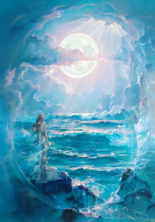 Through a Moonlit Dream Limited Edition Print by John Pitre