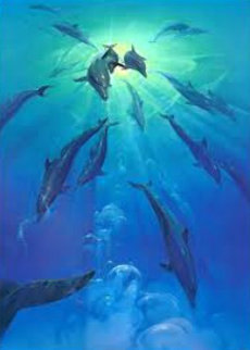 Freedom 1990  Limited Edition Print by John Pitre