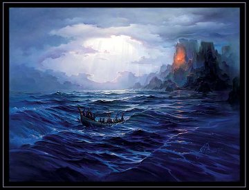 North Swell Rising 1993 Limited Edition Print by John Pitre