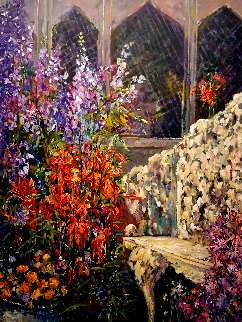 Place in the Garden PP Limited Edition Print by Henri Plisson
