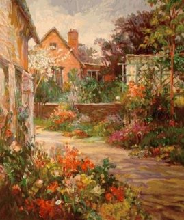Chichester Garden  PP Limited Edition Print by Henri Plisson