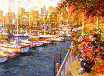 Mediterranean Sunrise PP Limited Edition Print - Henri Plisson