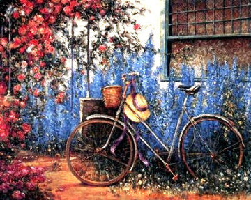 Rose Cottage PP  Limited Edition Print - Henri Plisson
