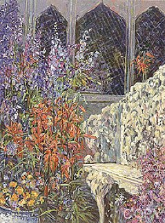 A Place in the Garden 1992 Limited Edition Print - Henri Plisson