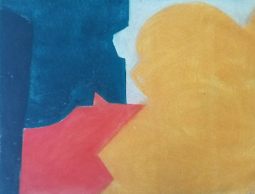 Untitled Lithograph Limited Edition Print - Serge Poliakoff