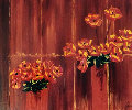 Untitled Still Life 28x35 Original Painting - Jaline Pol