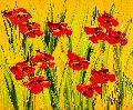 Arles Beautes De Printemps 2017 20x24 Original Painting - Jaline Pol