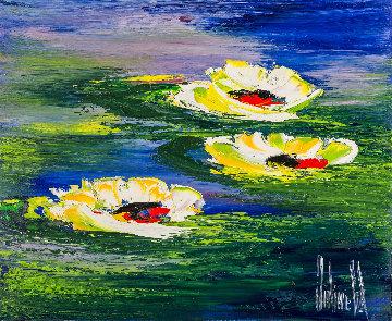 A Fleur D\'eau 2018 20x24 Original Painting - Jaline Pol