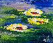 A Fleur D'eau 2018 20x24 Original Painting by Jaline Pol - 0