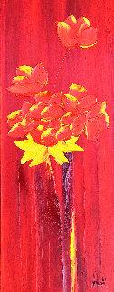 Percuhauts 2005 24x48 Original Painting - Jaline Pol