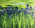 l'Eté Chantant 2018 32x39 Original Painting - Jaline Pol